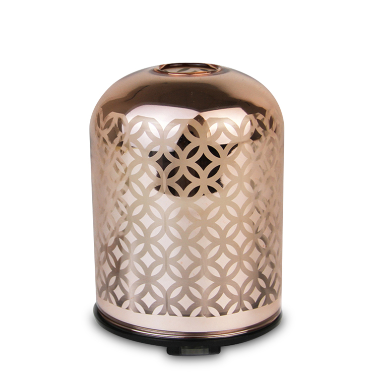 Amber Glass Ultrasoniese Aroma Diffuser