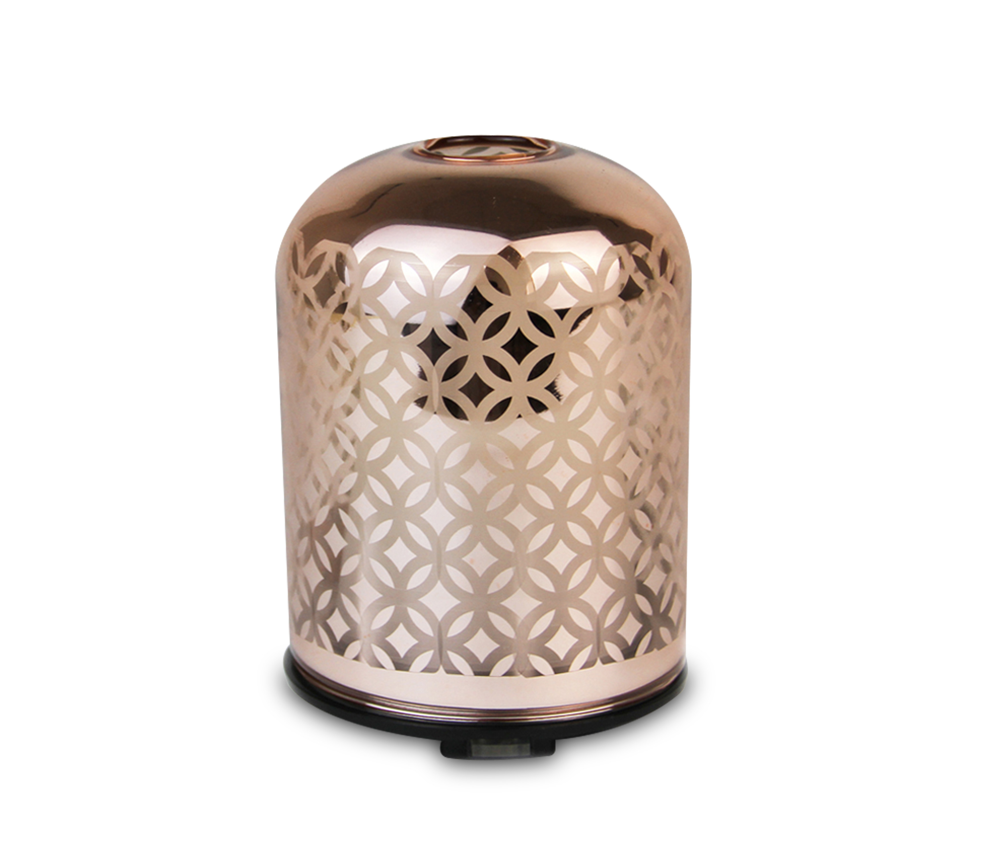 Rose Gold Glass Ultrasonic Aroma difuzoru