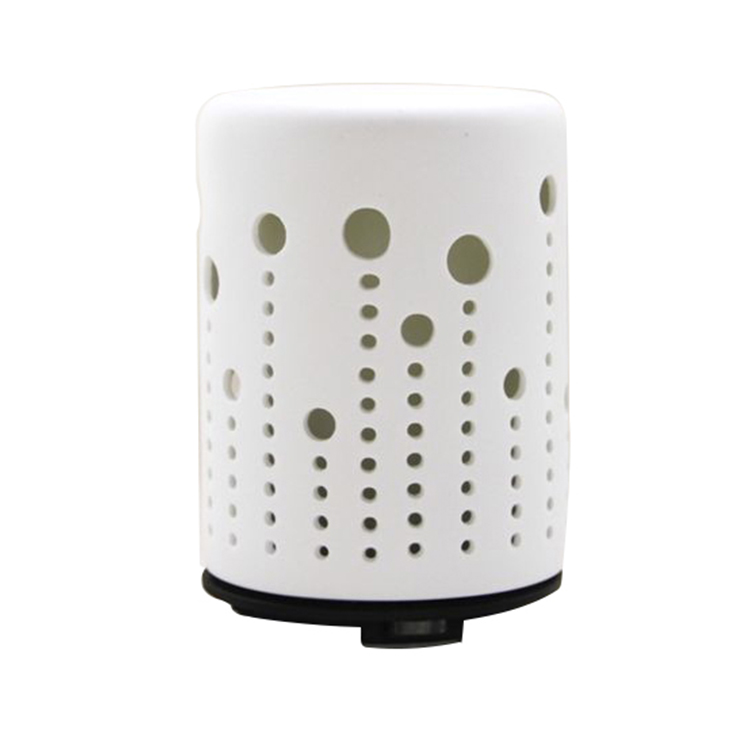 ceramic hot Hollow Design Ceramic Cool Mist Ultrasonic Essential Oil Diffuser