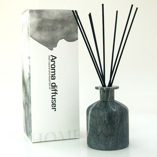 Chic Marmi Pattern Glass Reed Diffuser