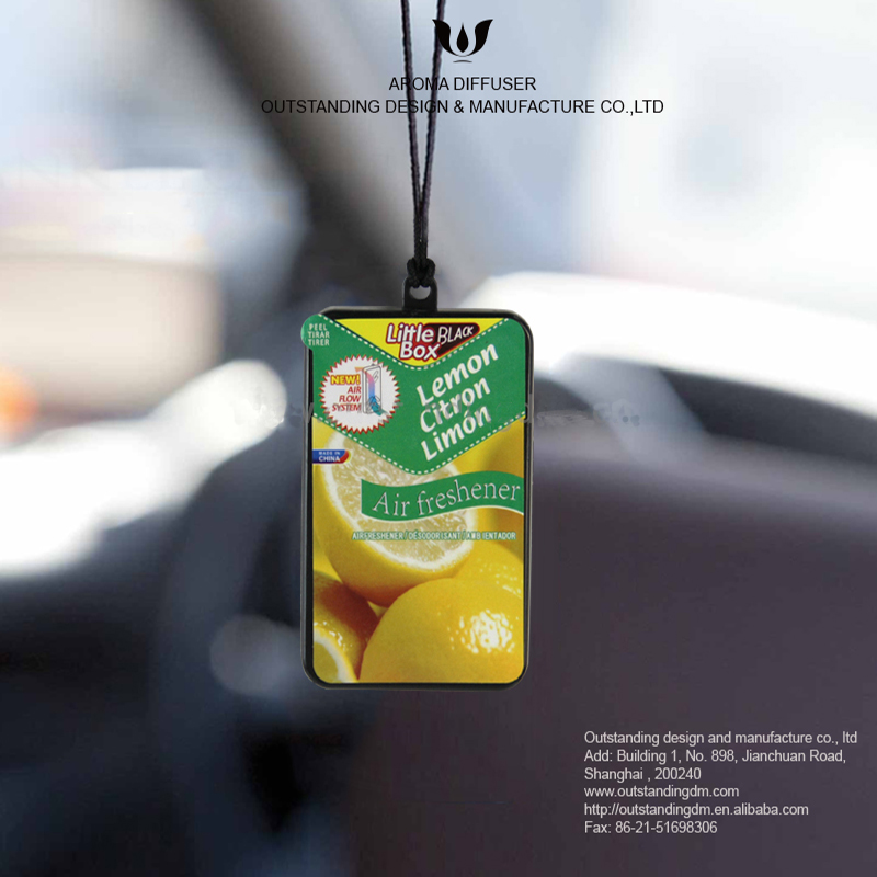 Classic Lemon monko Auto Air Freshener