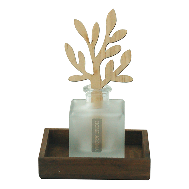 Decorative Frosted Gloine diffuser Le Reeds