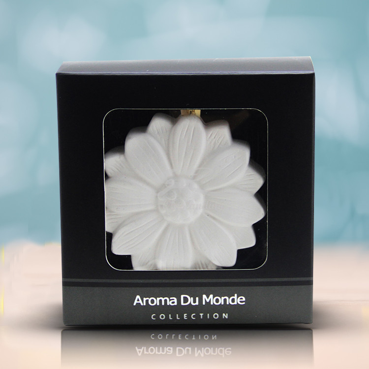 Elegant Blossom Aromatherapy Car Diffusers