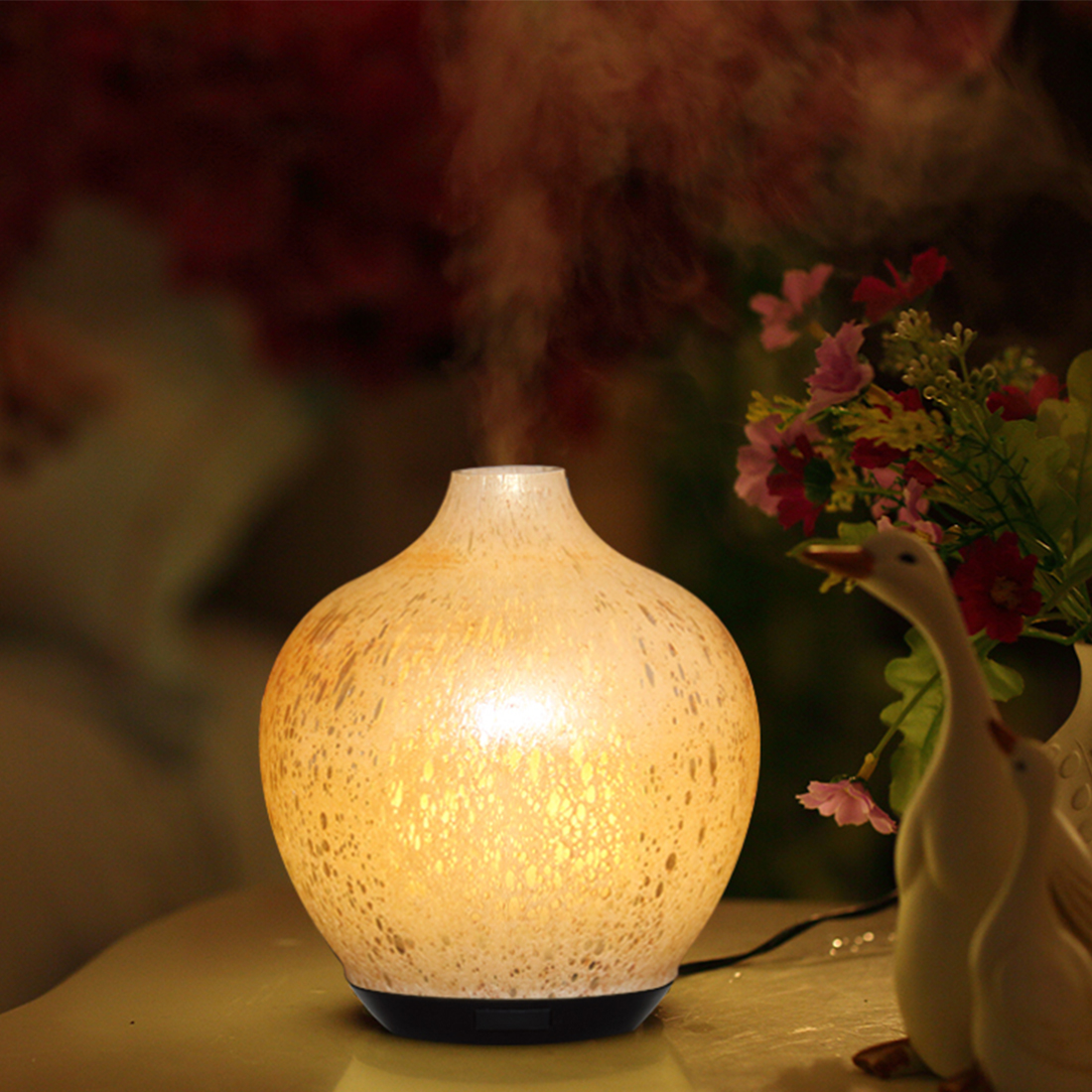 Glass importante nga lana ultrasonic Aroma diffuser
