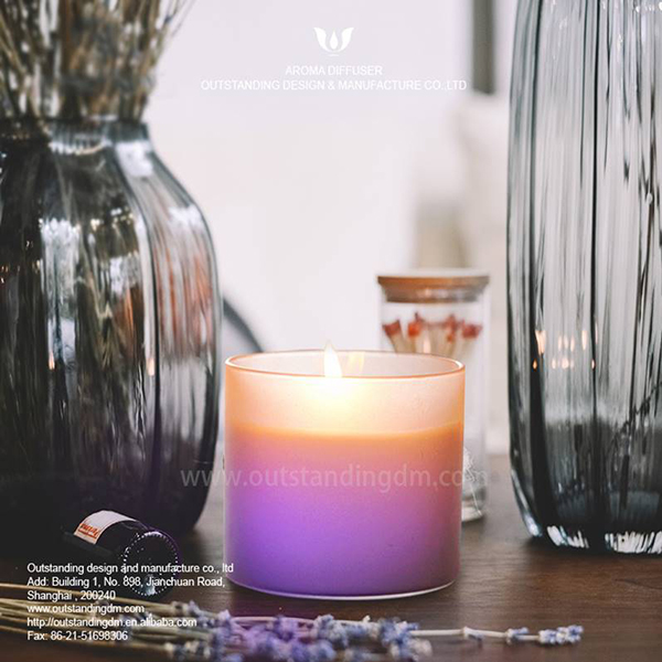 Whakamutunga High Glass LED kakara Candle