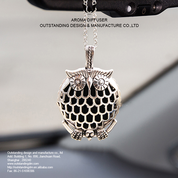 Metal Car Air diffuser sa Essential Oil