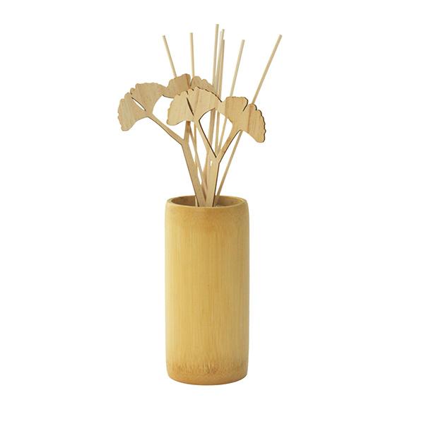 Difusor de la hoja del Ginkgo de madera natural
