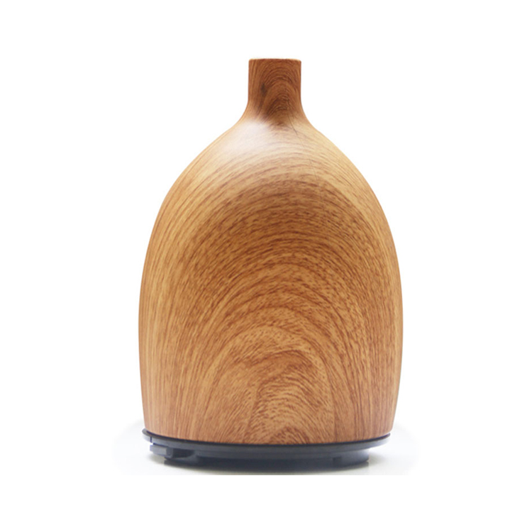 Spa room and homes Silicone aroma diffuser with wooden finish