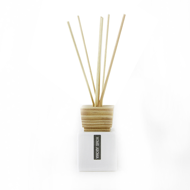 Square Glass Bottle Reed diffuser