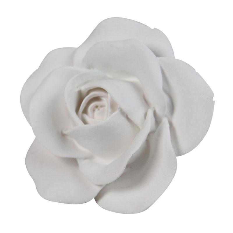 Beyaz Çiçeği Hava Firar Klipsli Araç Parfümü