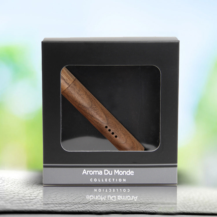 Wooden car clip diffuser Scented aroma