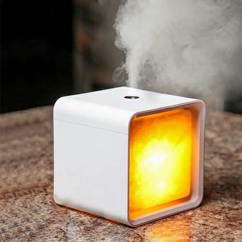 Plastiek Ultrasoniese Aroma Diffuser met Light